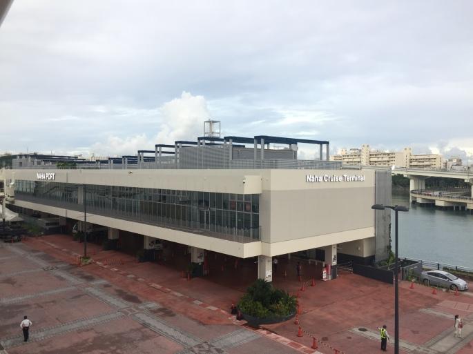 Naha cruise terminal. Septiembre 2018